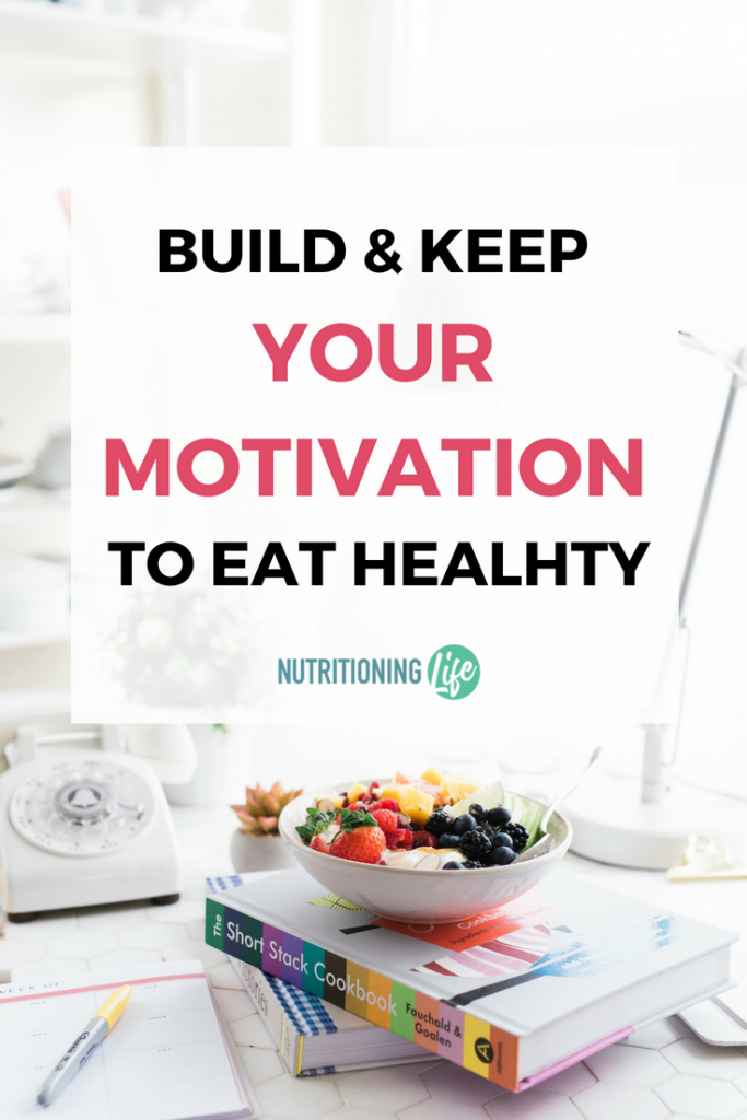 motivation to eat healthy workbook