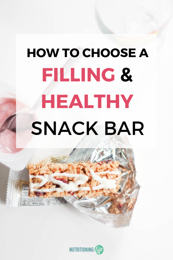 How to choose a filling and healthy snack bar
