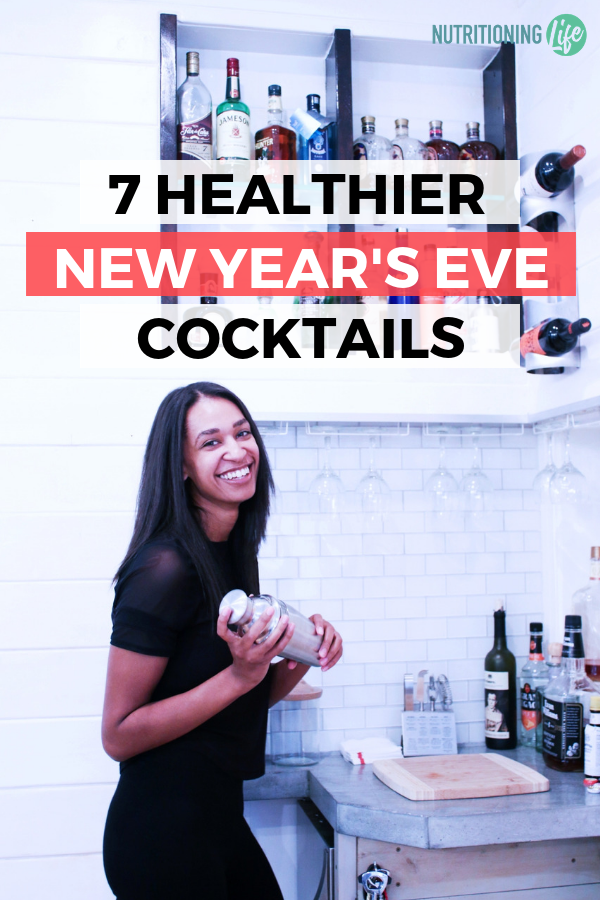 7 Healthier New Year's Eve Cocktails