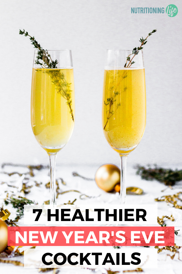 Healthier New Year's Eve Cocktails_Nutritioning Life