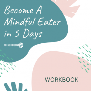 Mindful eating workbook