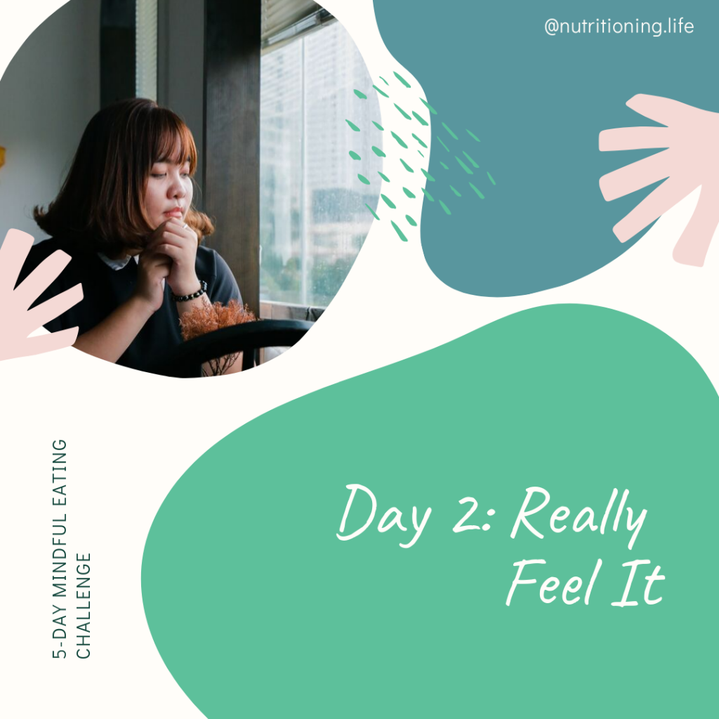Mindful Eating Challenge Day 2