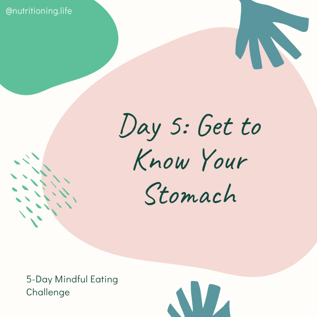 Mindful Eating Challenge Day 5